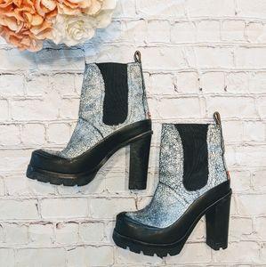 HUNTER Chelsea High Heel Boots